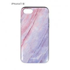 <7/8専用>AURORA STONEカードケース内蔵型iPhoneケース