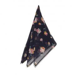 レトロフラワースカーフ