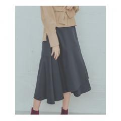 ◆ダブルクロスフレアラップスカート