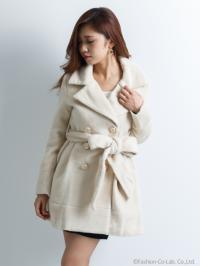 LADY WOOL TRENCH CT