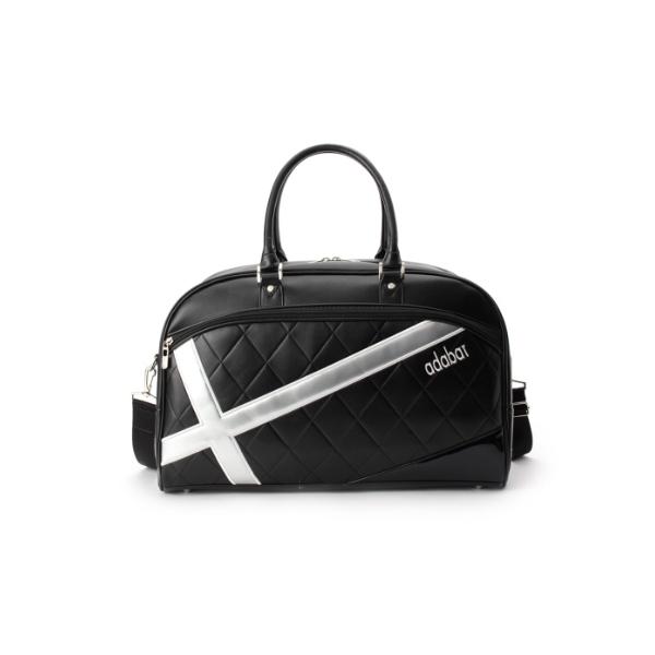 クロスラインデザインボストンバッグ