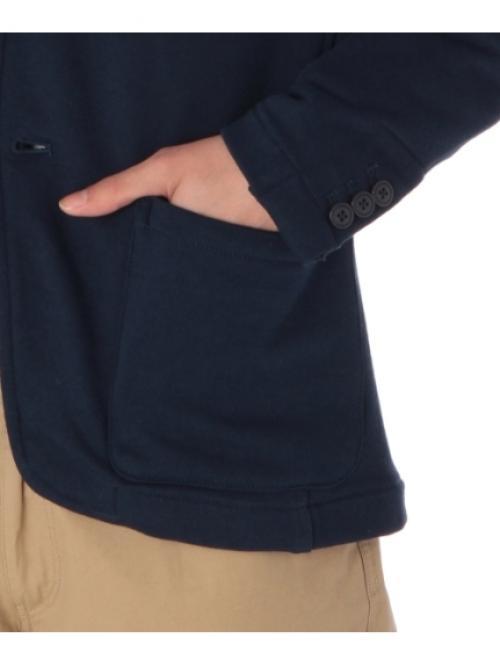 ベーシックスウェットテーラードジャケット