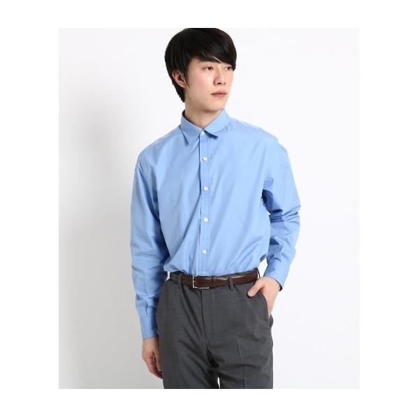 2b912070d80444 LOHACO - 【洗える】高密度タイプライターシャツ (シャツ・ブラウス ...