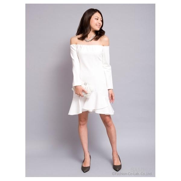 オフショルワンピース[DRESS/ドレス]