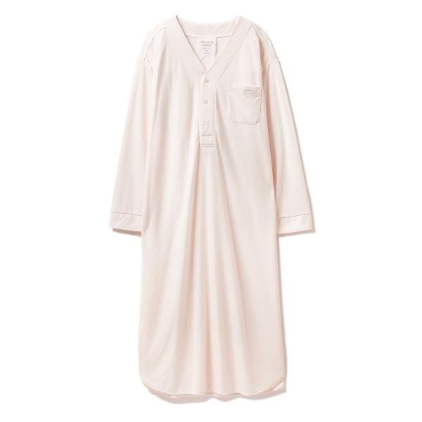 ダブルガーゼロングドレス