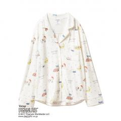 【PEANUTS】ベッドルームシャツ