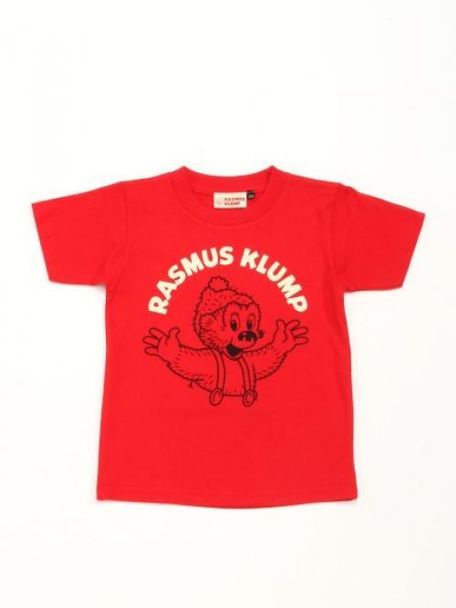 【KIDS】【ラスムス クルンプ】半袖Tシャツ120cm リョウテRD 【ラスムス クルンプ】15-K-03SS
