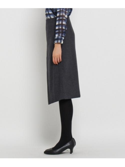 [L]ファブリカメリノラップ風スカート