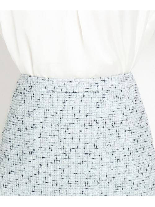 [L]ロリエフツイードスカート