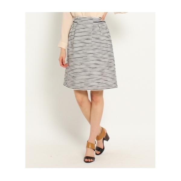 [L]ファンシーボーダースカート