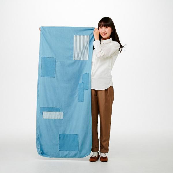 【送料無料】 使わない布団が大変身! 布団収納ごろ寝デニムマット