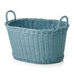 10%OFFクーポン対象商品 タフに使える手編みバスケット 〈タイプ2〉 クーポンコード:KZUZN2T
