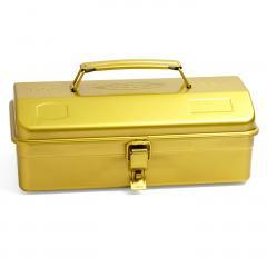 10%OFFクーポン対象商品 老舗工場で作られるレトロな工具箱〈レモンスカッシュイエロー〉 クーポンコード:KZUZN2T