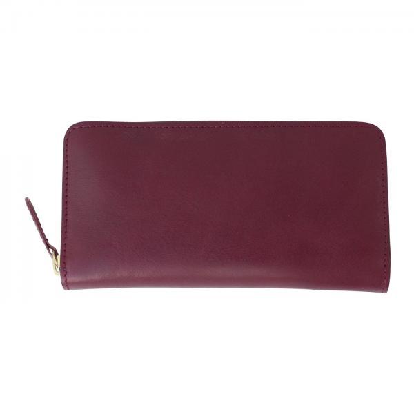 12115e7a211f LOHACO - 【送料無料】 鞄作家と作った 本革ラウンドジップ財布 ...