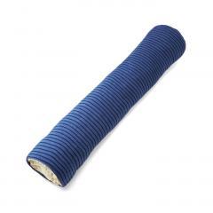 のびのびパイルで作った 布団収納抱き枕カバー〈ブルー〉