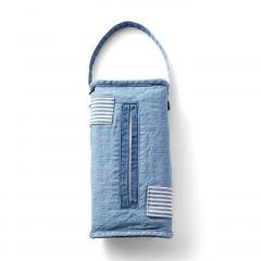 10%OFFクーポン対象商品 古着屋さんで見つけたような デニムティッシュケース〈タイプ1〉 クーポンコード:KZUZN2T