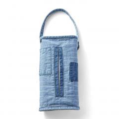 10%OFFクーポン対象商品 古着屋さんで見つけたような デニムティッシュケース〈タイプ2〉 クーポンコード:KZUZN2T