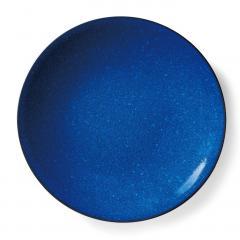 10%OFFクーポン対象商品 味わい深い青のボーイッシュ大皿〈ネイビー〉 クーポンコード:KZUZN2T