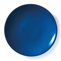 10%OFFクーポン対象商品 味わい深い青のボーイッシュ大皿〈ブルー〉 クーポンコード:KZUZN2T