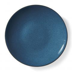 10%OFFクーポン対象商品 味わい深い青のボーイッシュ大皿〈ライトブルー〉 クーポンコード:KZUZN2T