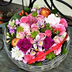 フラワーギフト リトルグランデ ピンク 生花 送料無料の画像
