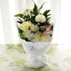 お供え優花 スタンディング花束 生花 送料無料