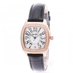フォリフォリ RETRO ウォッチ/腕時計(ブラック)