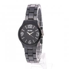 フォリフォリ TIME TO PLAY セラミックウォッチ / 腕時計(ブラック)