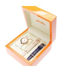 フォリフォリ CLASSY TWIST 3カラーチェンジャブルウォッチ / 腕時計(ホワイトセラミック・ピンク・ネイビー)