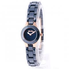 フォリフォリ MISS FF セラミックウォッチ/腕時計(ブルー)