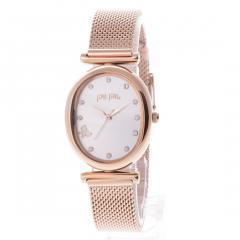 フォリフォリ WONDERFLY バタフライメッシュベルトウォッチ / 腕時計(ピンクゴールド)