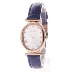フォリフォリ WONDERFLY バタフライレザーウォッチ / 腕時計(ネイビー)
