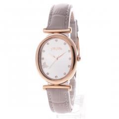 フォリフォリ WONDERFLY バタフライレザーウォッチ / 腕時計(グレー)