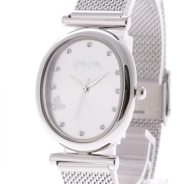 フォリフォリ WONDERFLY バタフライメッシュベルトウォッチ / 腕時計(シルバー)