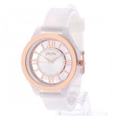 TIME ILLUSION LIGHT ウォッチ/腕時計(ミルキーホワイト)