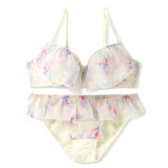 フランデランジェリー(fran de lingerie)Airly Tropical エアリートロピカル ペアブラジャー B-Fカップ