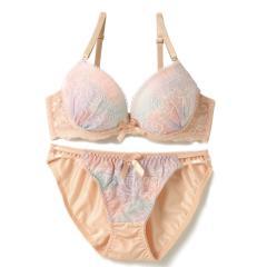 フランデランジェリー(fran de lingerie)Pure Magic rose ピュアマジックローズ ブラ&ショーツセット B-Dカップ