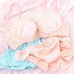 フランデランジェリー(fran de lingerie)Twinkle Sheer トゥインクルシアー ペアブラジャー B-Gカップ