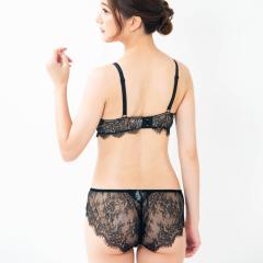 フランデランジェリー(fran de lingerie)Luxe リュクス コーディネートバックレースショーツ