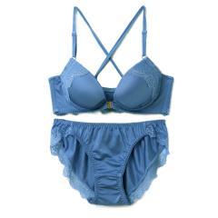 フランデランジェリー(fran de lingerie) Back Cross バッククロス ペアブラジャー B-Gカップ