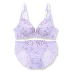 フランデランジェリー(fran de lingerie)Dramatic Rose ドラマティックローズ ブラ&ショーツセット B65-G75カップ