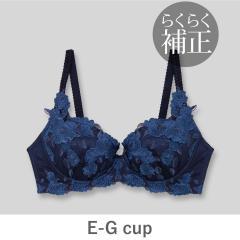 フランデランジェリー(fran de lingerie)Grace Grande 【らくらく補正】グレースグランデ コーディネートブラジャー E65-G85カップ