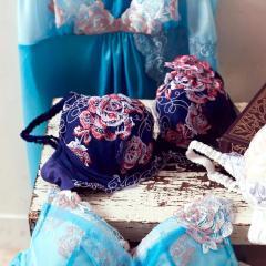 フランデランジェリー(fran de lingerie)GRACE Fiora グレースフィオラ コーディネートブラジャー C-Dカップ