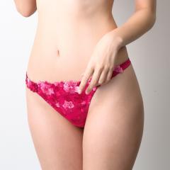 フランデランジェリー(fran de lingerie)GRACE Flower Petal グレースフラワーぺタル コーディネートタンガ