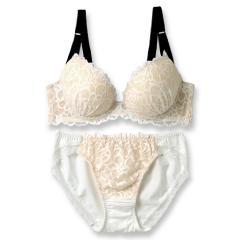 フランデランジェリー(fran de lingerie)LacyQueen レーシークィーン ブラ&ショーツセット B-Gカップ