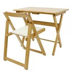 便利デスク・椅子セット ナチュラル