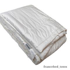 【送料無料】フランスベッド ホワイトカシミヤ 掛け布団 シングル【アウトレット品】