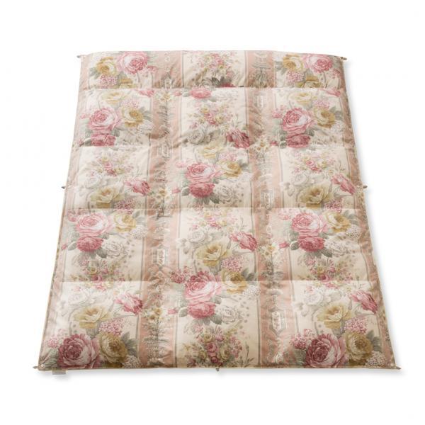 【肌掛け】ポーランド産ホワイトグースダウン(認定書付き)フランスベッド販売羽毛布団 ポエム シングル ピンク