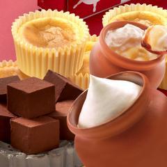 お中元 ギフト 2020 壷プリンとチーズケーキと生チョコのセット