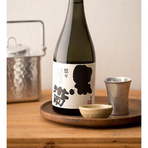 黒帯 特別純米 悠々 1800mL